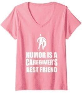 pink-humor is caregiver best friend